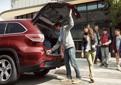 Adjustable power liftgate
