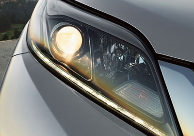 Projector-beam headlights