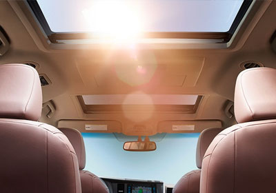 Dual moonroof